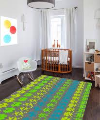 Modern Nursery Rug Decorative Rug Modern Rug Nursery Rug Space Invaders Carpet