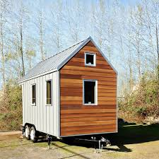 Modern Tiny House The Miter Box Modern Tiny House On Wheels By Shelter Wise Llc