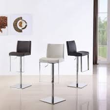 Modern White Bar Stool Furniture Modern Bar Stools In Grey And Black Also White Tile