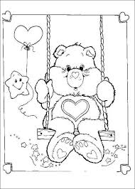 kids fun 63 coloring pages care bears
