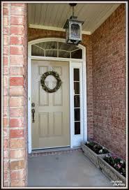 journey painting the front door