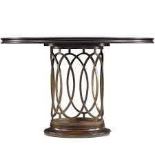 stanley pedestal dining table avalon heights neo deco pedestal table by stanley furniture