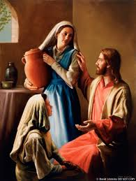 christ in the home of mary and martha mary and martha