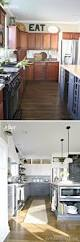 Painted Kitchen Cupboard Ideas Best 25 Cabinets To Ceiling Ideas On Pinterest White Shaker