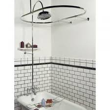 Design Clawfoot Tub Shower Curtain Rod Ideas Clawfoot Bathtub Shower Curtain Rod Shower Curtains Design