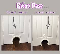door design images amazon com the kitty pass interior cat door hidden litter box