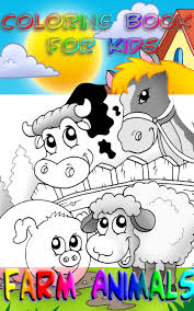 farm animals coloring book kids