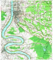 Baton Rouge Map Download Topographic Map In Area Of Baton Rouge Shenandoah