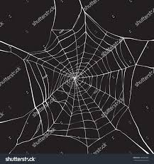 halloween background black spider web white spider web on dark background stock vector 309986384