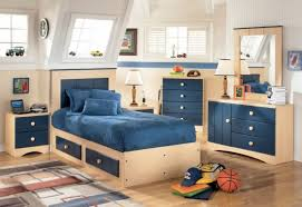 funiture kids boy room furniture ideas in blue using wooden