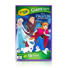 crayola disney frozen giant coloring book