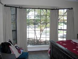 how to put up a curtain track in bay window nrtradiant com corner brackets for curtain rods bay window traverse rod