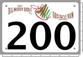 big muddy apple obstacle run rts sports