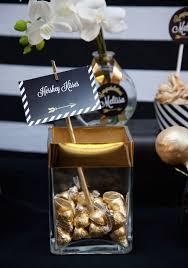 kara u0027s party ideas black gold glamorous graduation party