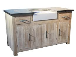 cuisine bois massif pas cher meuble cuisine bois et zinc 8 meuble evier promotion mobilier