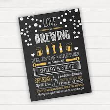 coed bridal shower bridal shower invitation is brewing invitation coed