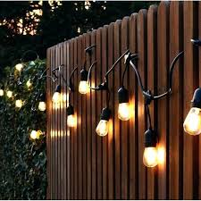 battery powered outdoor led string lights exterior string lighting s ing outdoor led string lights battery