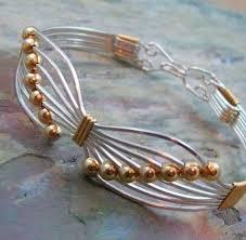 wire bracelet images Butterfly wire bracelet mondazzi book bead crystal jpg