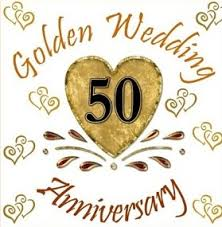 50 wedding anniversary congratulations to 50th wedding anniversary