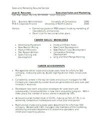 marketing resume format create best resume format sales marketing food service