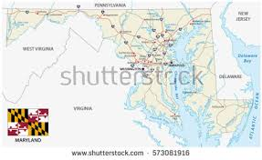 maryland map maryland map stock images royalty free images vectors