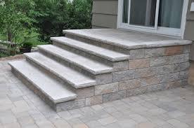Building Stone Patio by Building Stone Patio Steps Modern Patio U0026 Outdoor