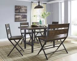 Dining Room Table Set With Bench by Kavara Counter Height Dining Room Set W Bench Casual Dining