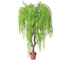 home decoration artificial lighted weeping willow branch tree