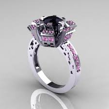 Pink Diamond Wedding Rings by Diamond Engagement Ring Hd Black Band And Pink Diamond Rings
