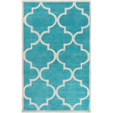 Teal Living Room Rug by Modern Andover Mills Area Rugs Allmodern