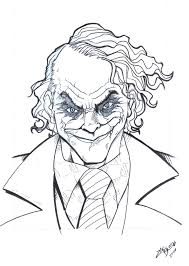 joker pencil by zacbrito on deviantart