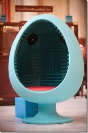 Meditation Chair Reviewer Gone Mad Meditation Chair From Sound Egg