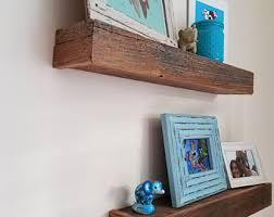 Barn Wood Floating Shelves by Whitewashed Floating Shelves Reclaimed Wood Custom Size