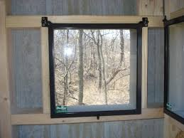 Elevated Bow Hunting Blinds Hunting Blind Magnetic Windows Elevated Diy Fogging Up The Good