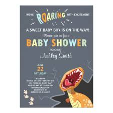 dinosaur baby shower dinosaur baby shower gifts on zazzle