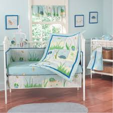 Dragonfly Crib Bedding Set Astonishing Baby Nursery Decoration With Wooden Floor And Baby