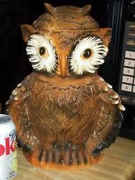 vintage owl cookie jar made in japan by abbyandmartha on etsy