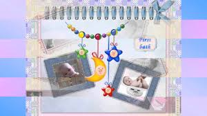 scrapbook ideas for babies and