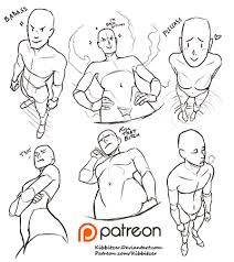 kibbitzer creating paintings tutorials comics patreon