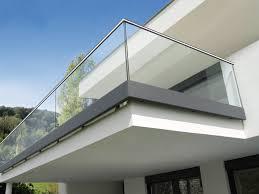 balkon stahlkonstruktion preis glasgeländer und ganzglasgeländer auf maß gefertig glas bosen