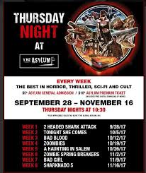 Century 16 Eastport Plaza Movie Times by Thursday Night At The Asylum Geek Out With Cherry Los Angeles