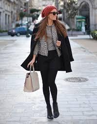 imagenes look invierno moda en la calle looks casual y chic del invierno 2014 robatendencias
