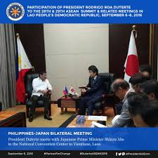 Why Japanese by Manila Speak Why Japan Pm Said Duterte Is Famous In Japan