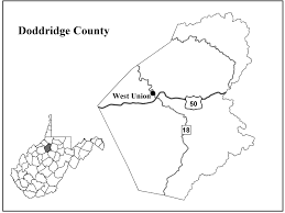 County Map West Virginia by Doddridge County Center For Excellence In Disabilities