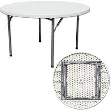 round plastic folding tables 5 ft folding table facil furniture