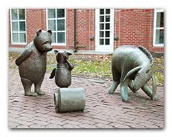 winnie the pooh garden statues hawe park