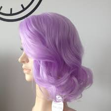 Light Purple Wig Vegaswigs Advance Sale Pastel Synthetic Lace Front Natural Summer