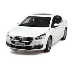 peugeot 508 2015 peugeot 508 2015 1 18 scale white diecast model car wholesale