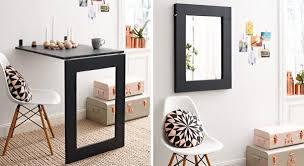 klapptisch küche anleitung klapptisch mit integriertem spiegel bauen diy info