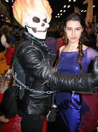 dark elsa and ghost rider by ladyofthegeneral on deviantart